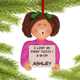 Personalized Lost a Tooth Girl