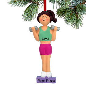 Personalized Weightlifter Female