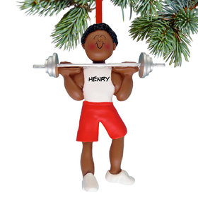 Personalized Weightlifter Male