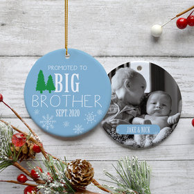 Personalized Promoted to Big Brother Photo