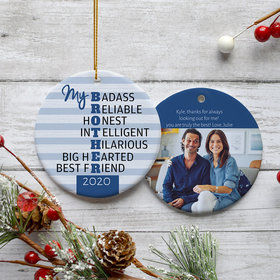 Personalized Best Brother Photo