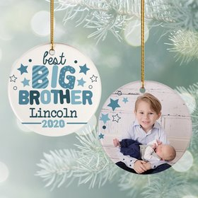 Personalized Best Big Brother Photo