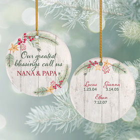 Personalized Grandkids Greatest Blessing