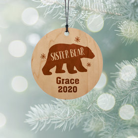 Personalized Sister Bear