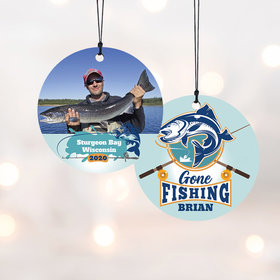 Personalized Gone Fishing