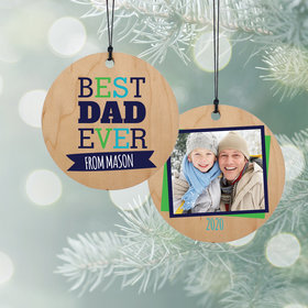 Personalized Best Dad Ever
