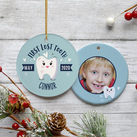 Personalized Lost Tooth Boy Photo