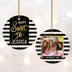 Personalized Sweet 16 Photo