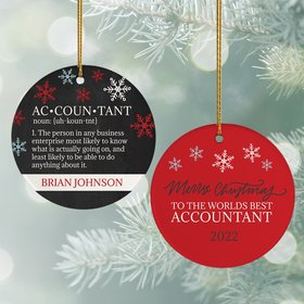 Personalized World's Best Accountant