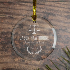 Personalized Attorney (Etched)