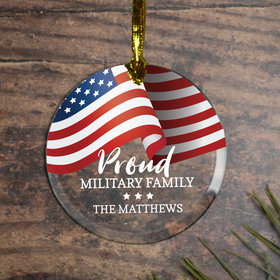 Personalized Proud Military Family