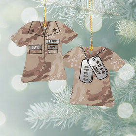 Personalized Army Shirt