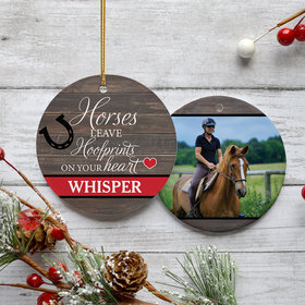 Personalized Horses Leave Hoofprints on Your Heart