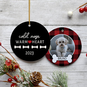 Personalized Cold Nose Warm Heart