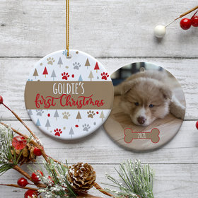 Personalized Pet's First Christmas