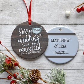 Personalized Cancelled Wedding