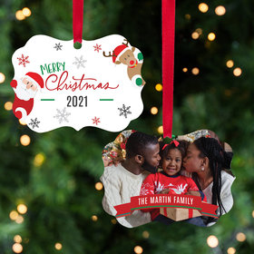 Personalized Merry Quarantine Christmas Christmas Ornament