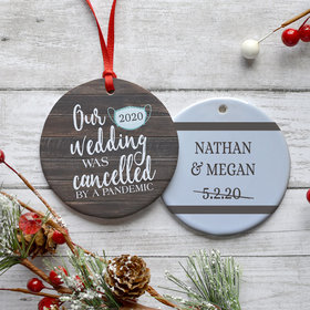 Personalized Our Cancelled Wedding