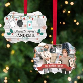 Personalized A Year to Remember Christmas Ornament