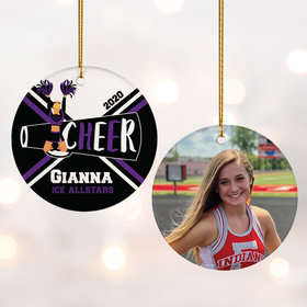 Personalized Cheer Photo