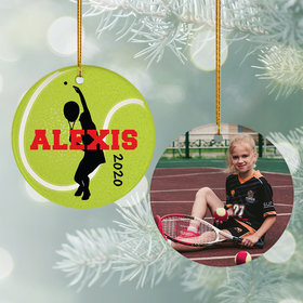 Personalized Tennis Photo