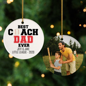 Personalized Best Coach Dad