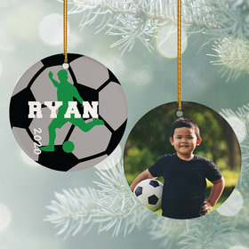 Personalized Soccer Photo