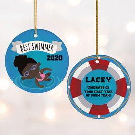 Personalized New Swimmer Female