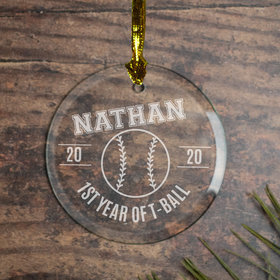 Personalized Baseball (Etched)