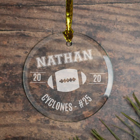 Personalized Football (Etched)