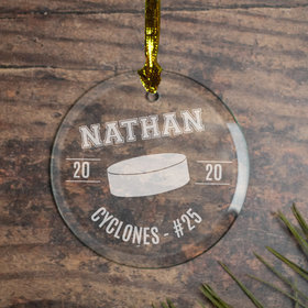Personalized Hockey (Etched)