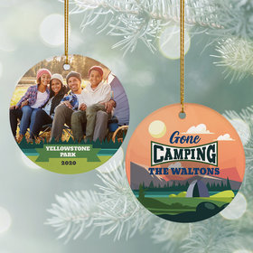 Personalized Gone Camping Photo