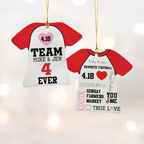Personalized Team Us 4 Ever Shirt