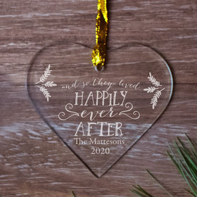 Personalized Happily Ever After Wedding