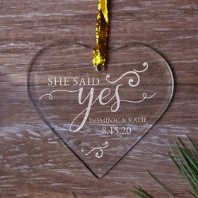 Personalized She Said Yes