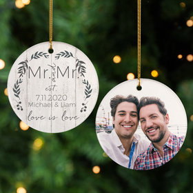Personalized Love is Love Mr & Mr Photo