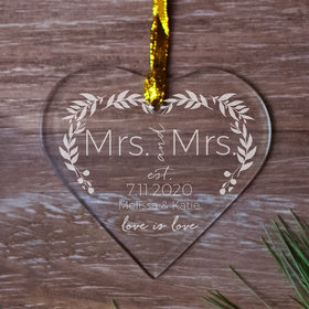 Personalized Love is Love Wedding - MRS