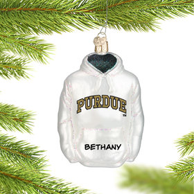 Personalized Purdue University Hoodie Sweatshirt