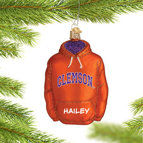 Personalized Clemson University Hoodie Sweatshirt
