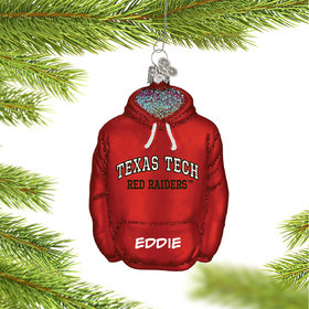 Personalized Texas Tech University Hoodie Sweatshirt