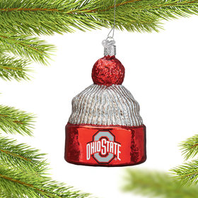 Personalized Ohio State University Beanie