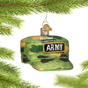 Personalized Army Camo Hat