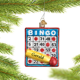 Personalized Bingo Card with Marker