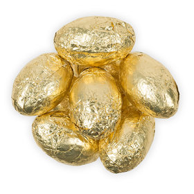 Gold Milk Chocolate Eggs