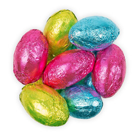 Milk Chocolate Flavored Easter Eggs