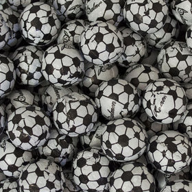 Milk Chocolate Soccer Balls