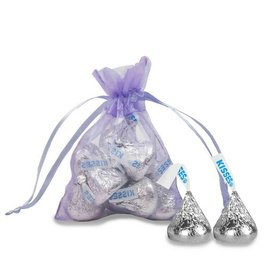 Extra Small Organza Bag - Pack of 12 Lavender