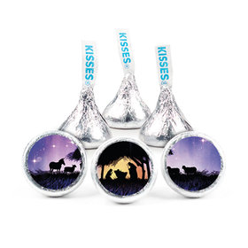 Christmas Holy Night Hershey's Kisses (50 pack)