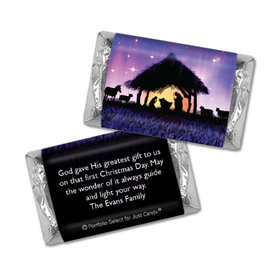 Personalized Hershey's Miniatures - Christmas Holy Night