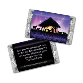 Personalized Mini Wrappers Only - Christmas Holy Night